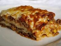Kuchnia włoska - lasagne, makaron