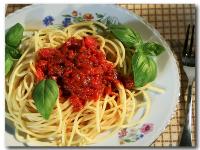 Kuchnia włoska - włoskie spaghetti