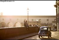 Florencja, florencji, toskania, most zalotników