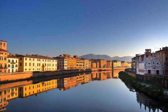 Piza miasto w Toskanii, Toskania