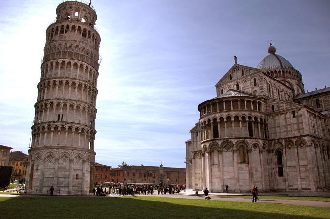 Krzywa wieża w Pizie w Toskanii, Toskania