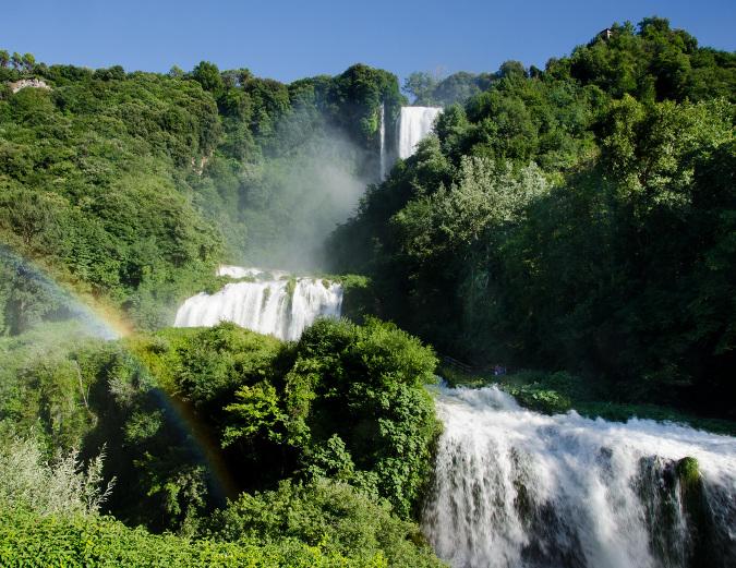 umbria,wodospad, wodospady, Cascata, delle, Marmore, umbrii